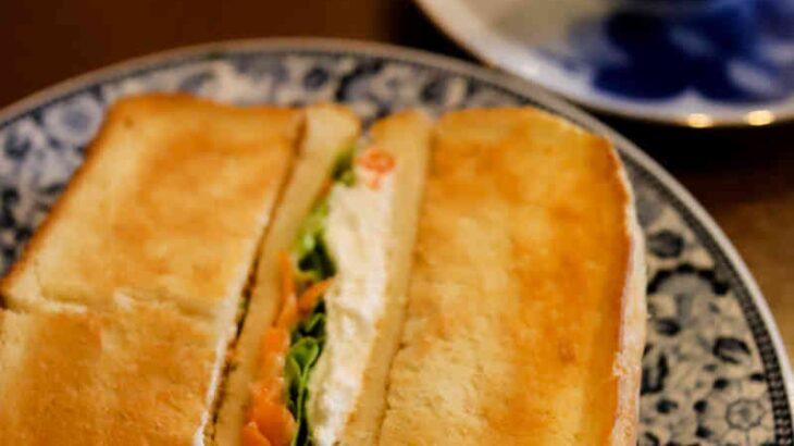自家製カッテージチーズと海老サンド & 2-3ブレンド 900円