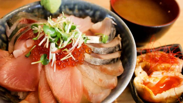 フジタカ食堂の海鮮丼 980円