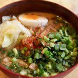 台湾カフェ美麗(MEILI)の魚介と香辛料が香る担仔麺(タンツーメン)