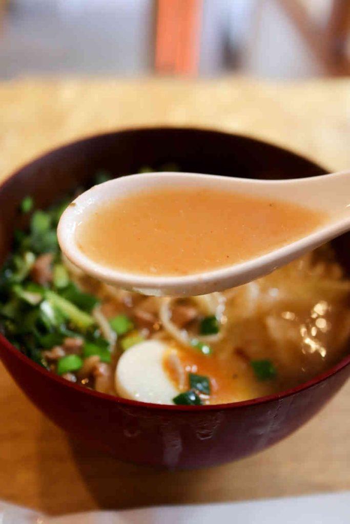 担仔麺のスープ