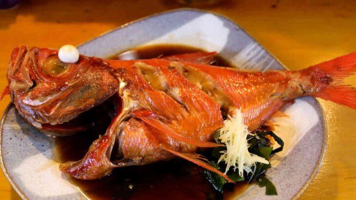 金目鯛姿煮付定食 2,200円