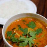 インド料理ミラン(MILAN)でタイ料理ランチのレッドカレー