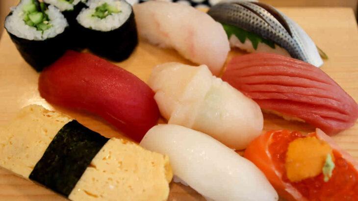 『鮨すえひろ』の海鮮ばらちらし&おまかせにぎり鮨で夫婦ランチ
