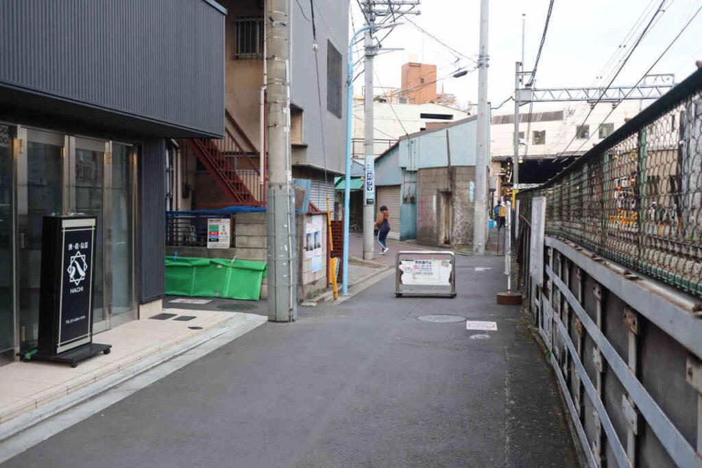 下高井戸駅前市場のすぐそば