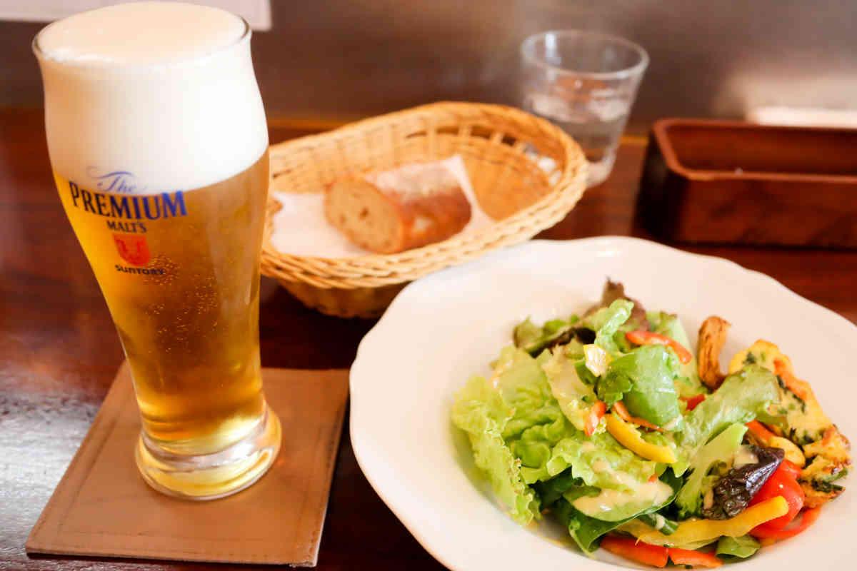 生ビール プレミアムモルツ 450円(税別)