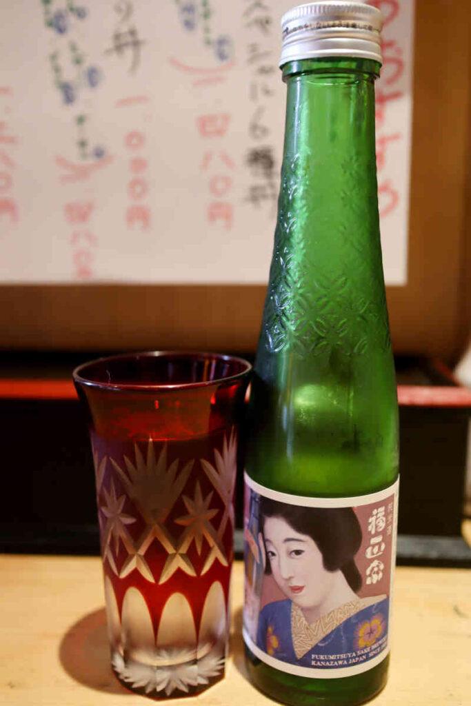 日本酒 福政宗 純米  680円
