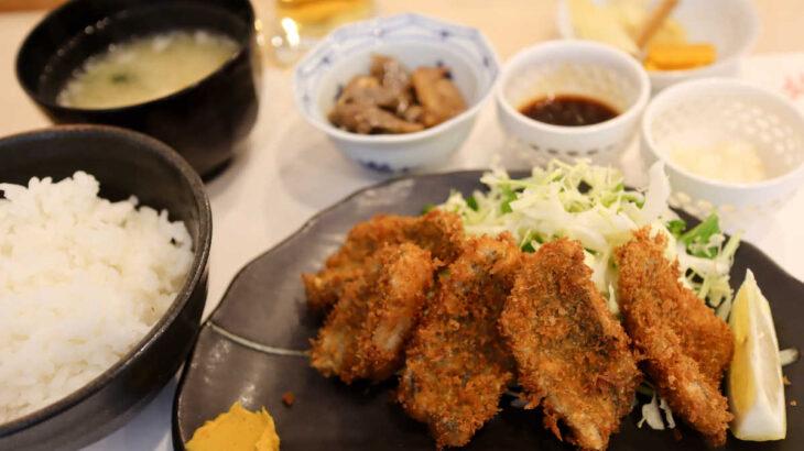 『鮨すえひろ』のイサキフライ膳がアイス付きで大漁お値打ち価格825円