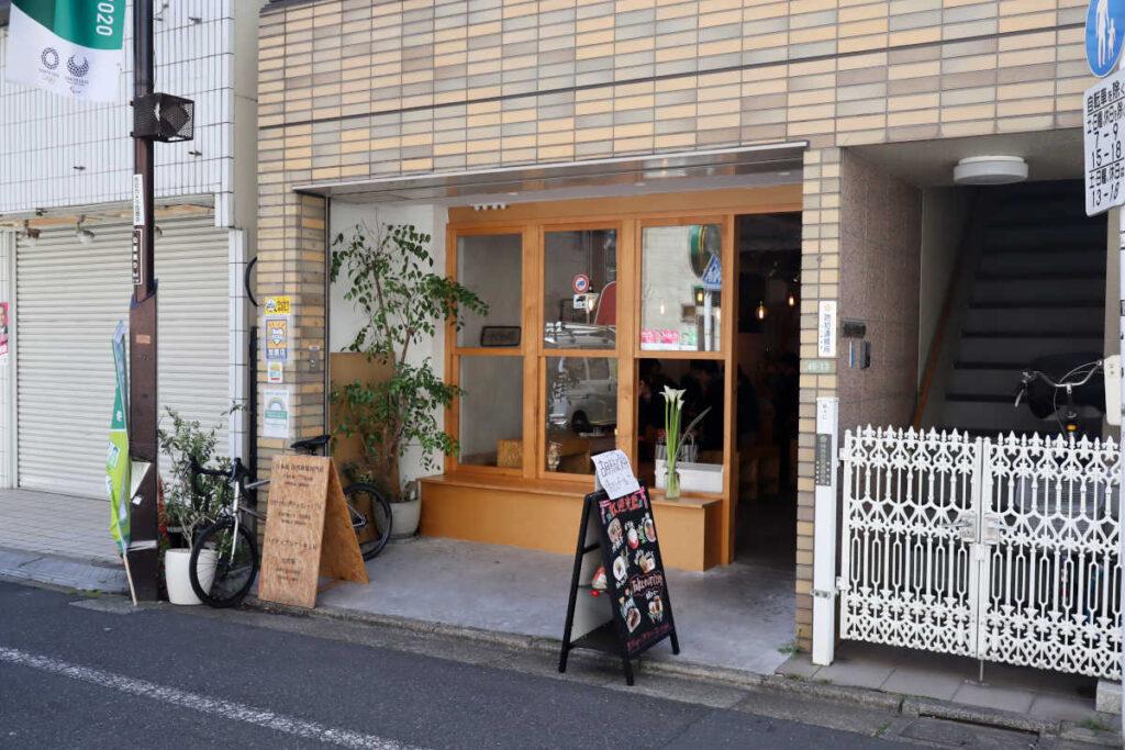 下高井戸 台湾カフェ MEILIの外観