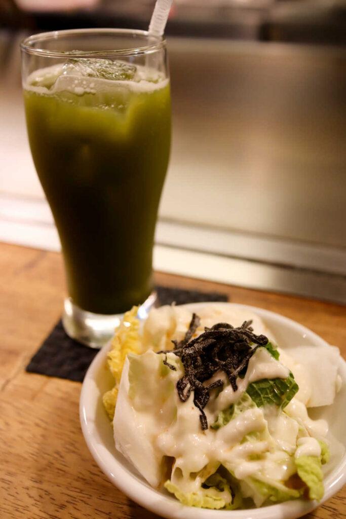 抹茶と白菜サラダ(ハーフ)