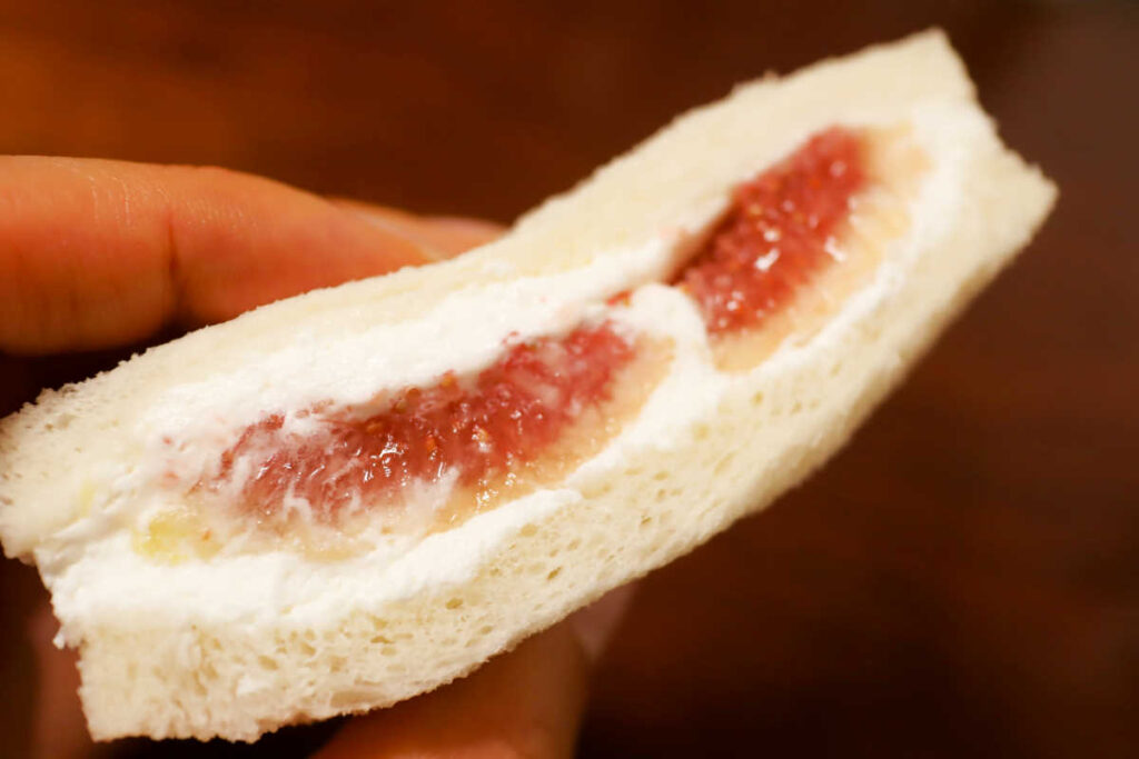 パーラーシシドの無花果サンド
