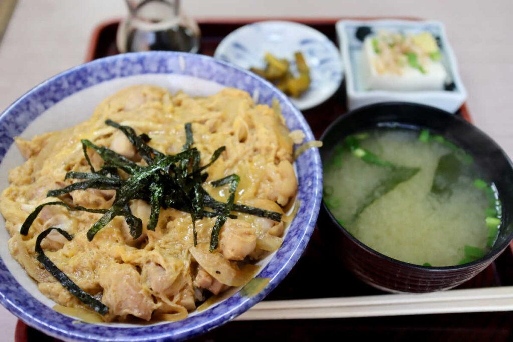 寿々木家の親子丼