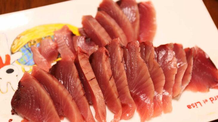 鮮魚店『長谷川商店』カツオのお刺身が安くて美味い!