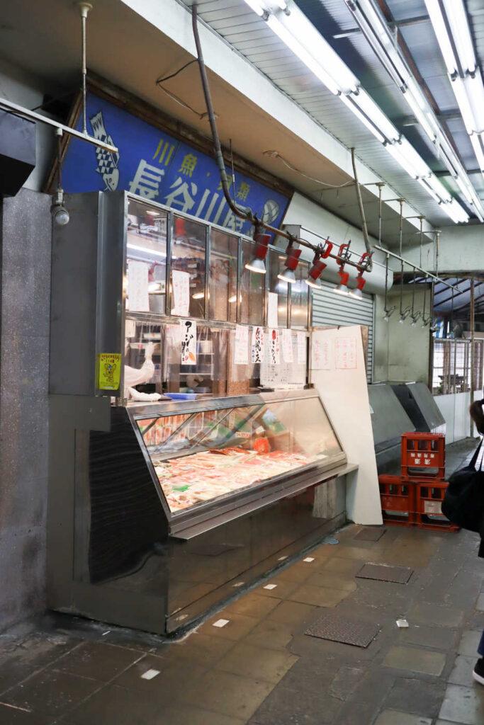 下高井戸 鮮魚店 長谷川商店の外観