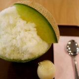 パーラーシシドの果肉たっぷりメロンかき氷が進化した!