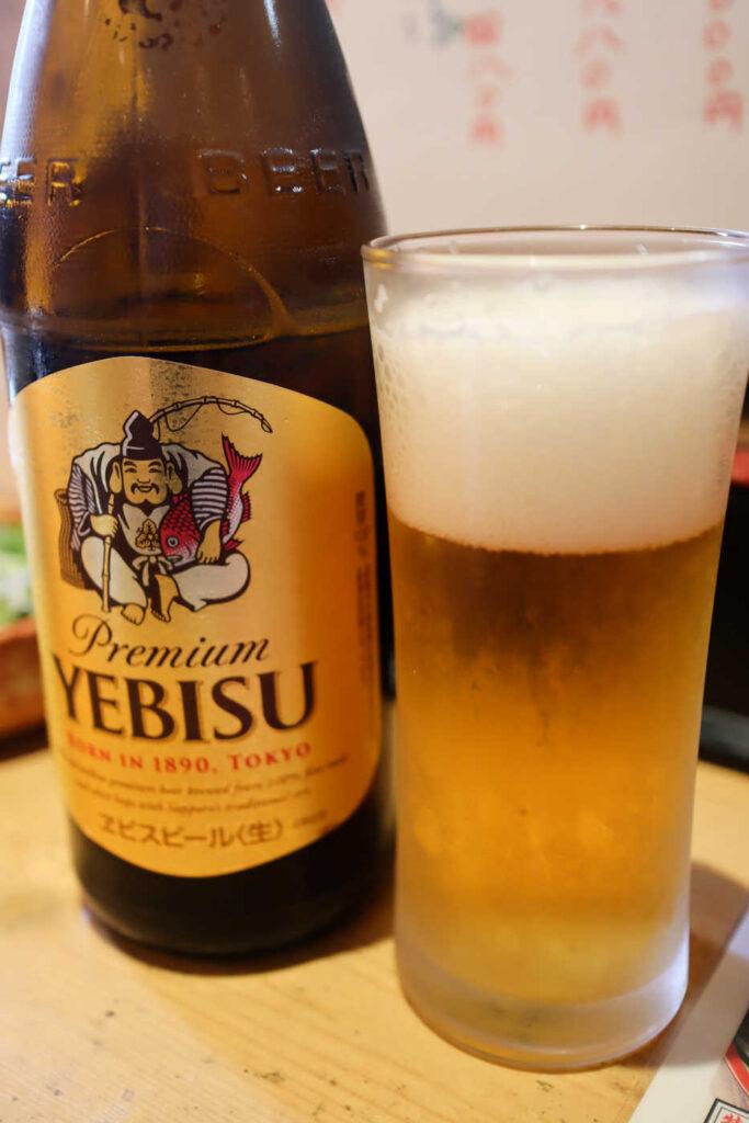 三友蓮の瓶ビール
