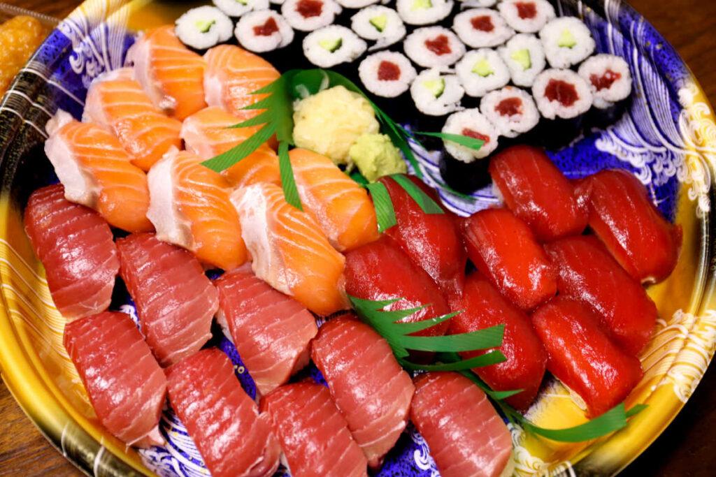 三友蓮のお寿司