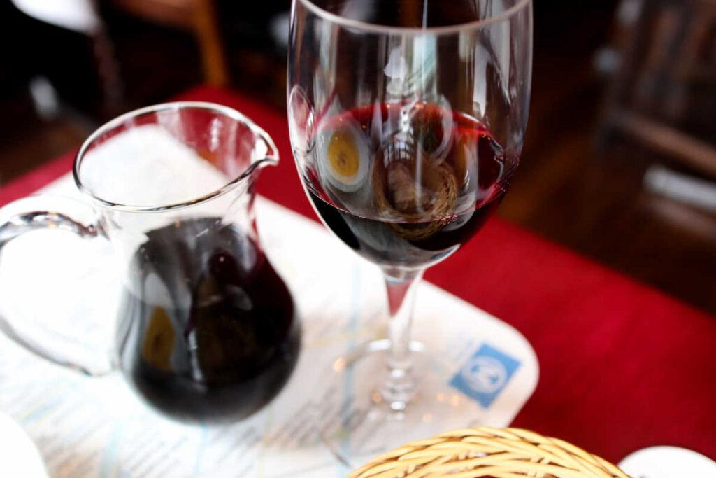 プティリュタンのハウスワイン