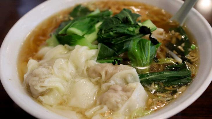 中華料理 家宴のワンタンメン