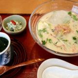 和食 眞太の胡麻香る『冷や汁御膳』は計算しつくされた名品