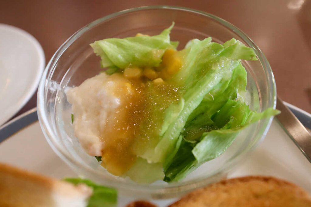 珈琲館のサラダ