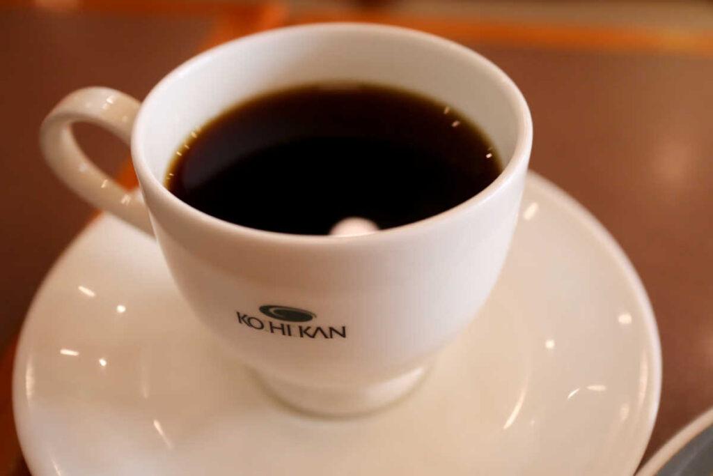 珈琲館のブレンドコーヒー