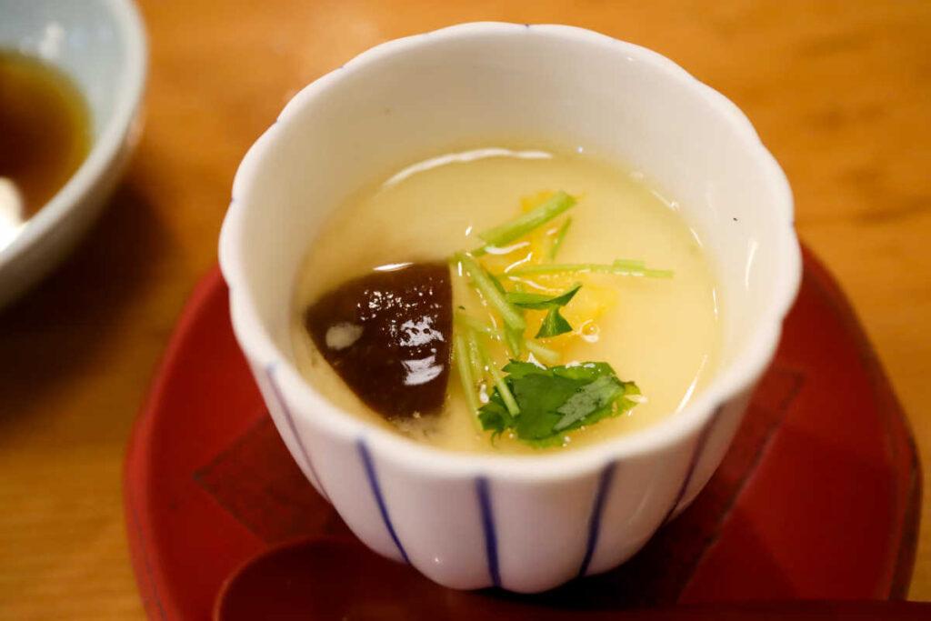 旭鮨総本店の茶碗蒸し